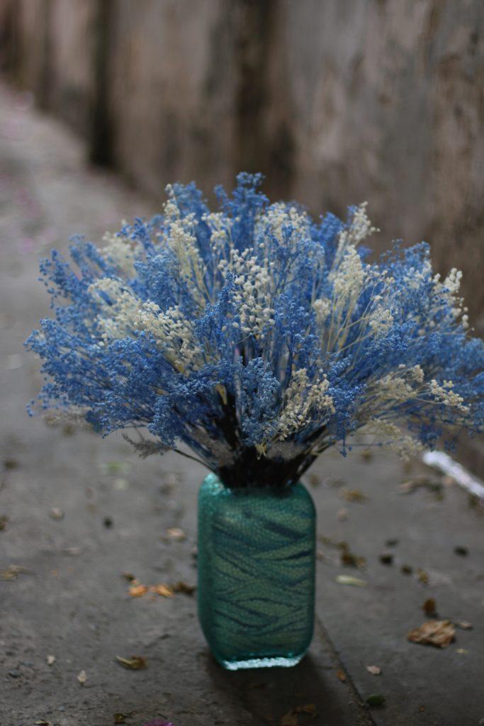 màu hoa khô phù hợp người mệnh thủy