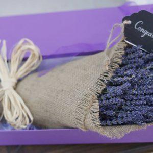 Hộp hoa lavender