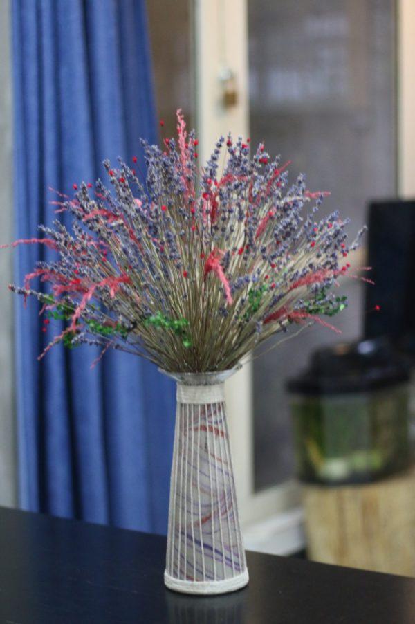 Lọ hoa oải hương khô