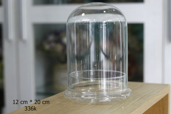 Nắp chụp và đế thủy tinh littel prince 12x20 cm